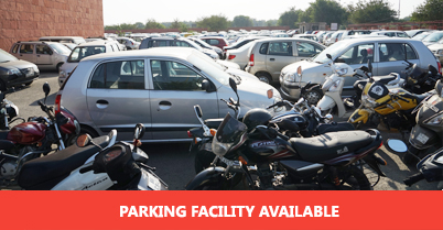 DMRC Airport Line Car Parking