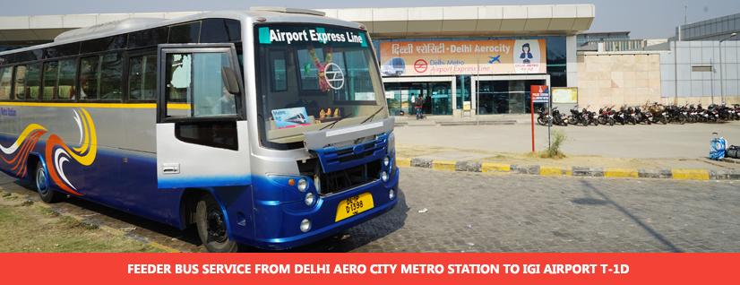 DMRC Airport Line Feeder Bus Service
