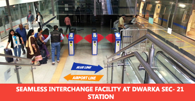 DMRC Airport Line Other facility