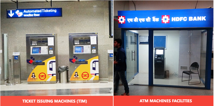 DMRC Airport Line TVM